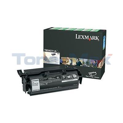 LEXMARK T654N RP PRINT CARTRIDGE BLACK 36K